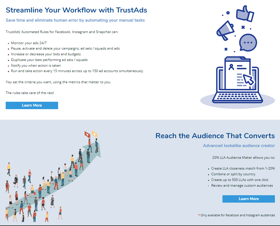 What Are The Features of TrustAds?