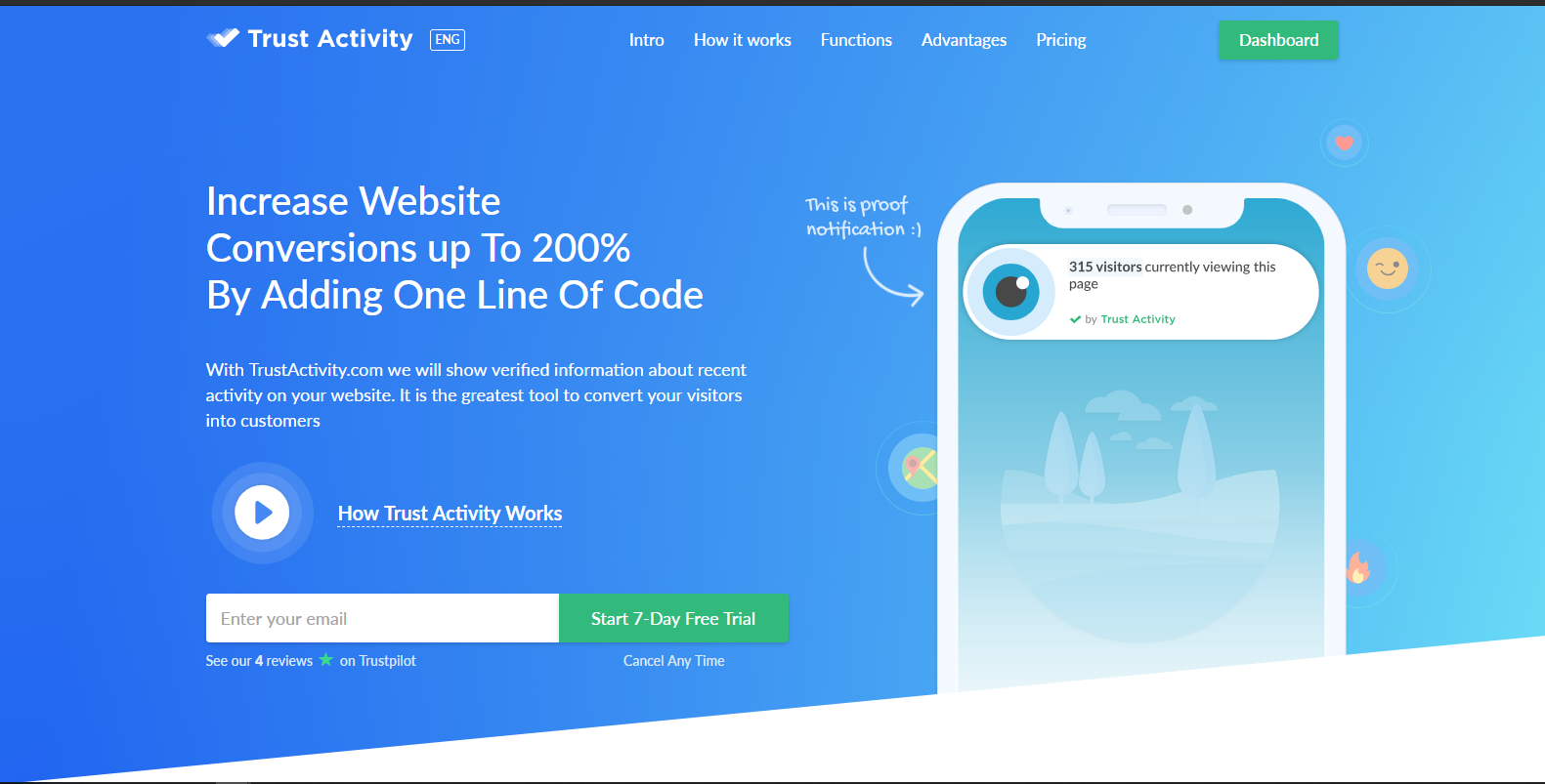 Trust Activity - Increase Your Website Conversion With The Psychology of Trust