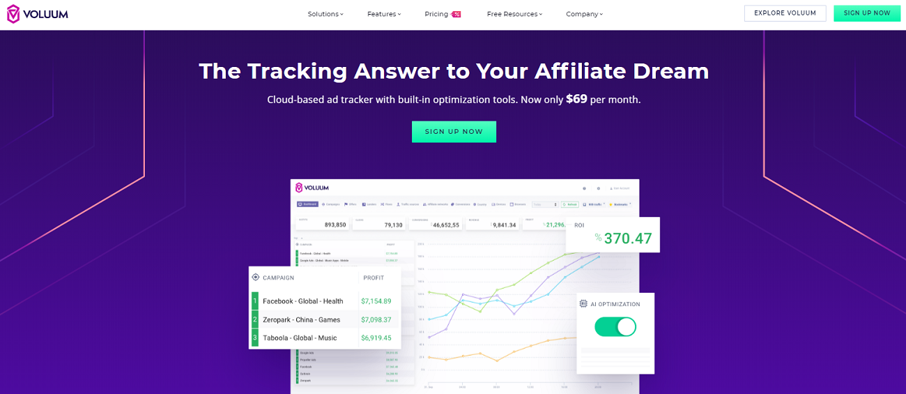 Voluum – The All-In-One Ads Tracker for Your Campaigns