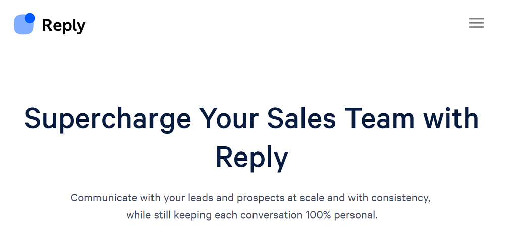 Reply.io - One Stop Solution For Sales Automation and Lead Management