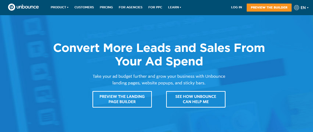 Unbounce - The Easy Way To Create Interactive and Optimized Landing Page