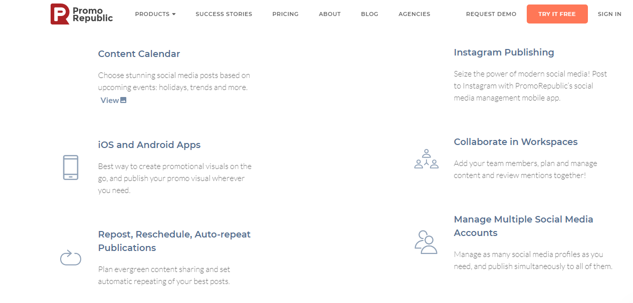 What Are The Features of PromoRepublic?
