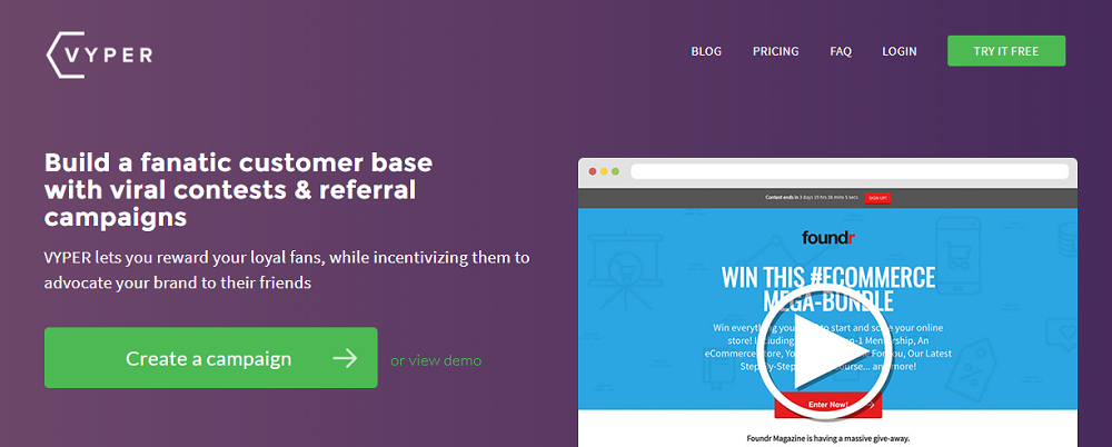 VYPER - Your Best Viral Marketing Software