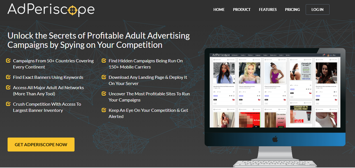 AdPeriscope - A Sure Way to Dominate The Adult Internet Niche