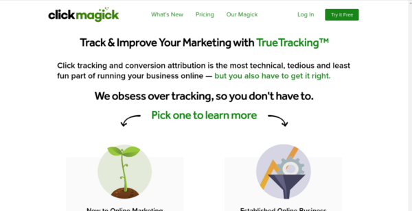 14 Day Free Trial at ClickMagick