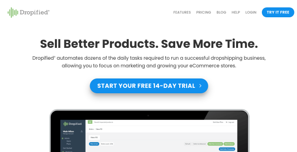28 Day Free Trial at Dropified