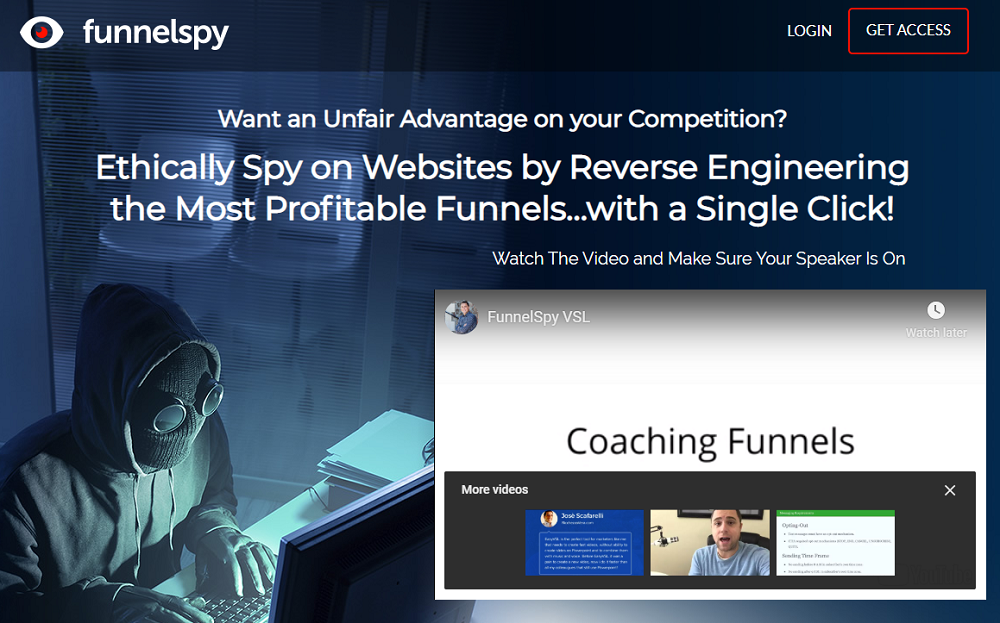 Funnelspy - The Unique Funnel Research Software