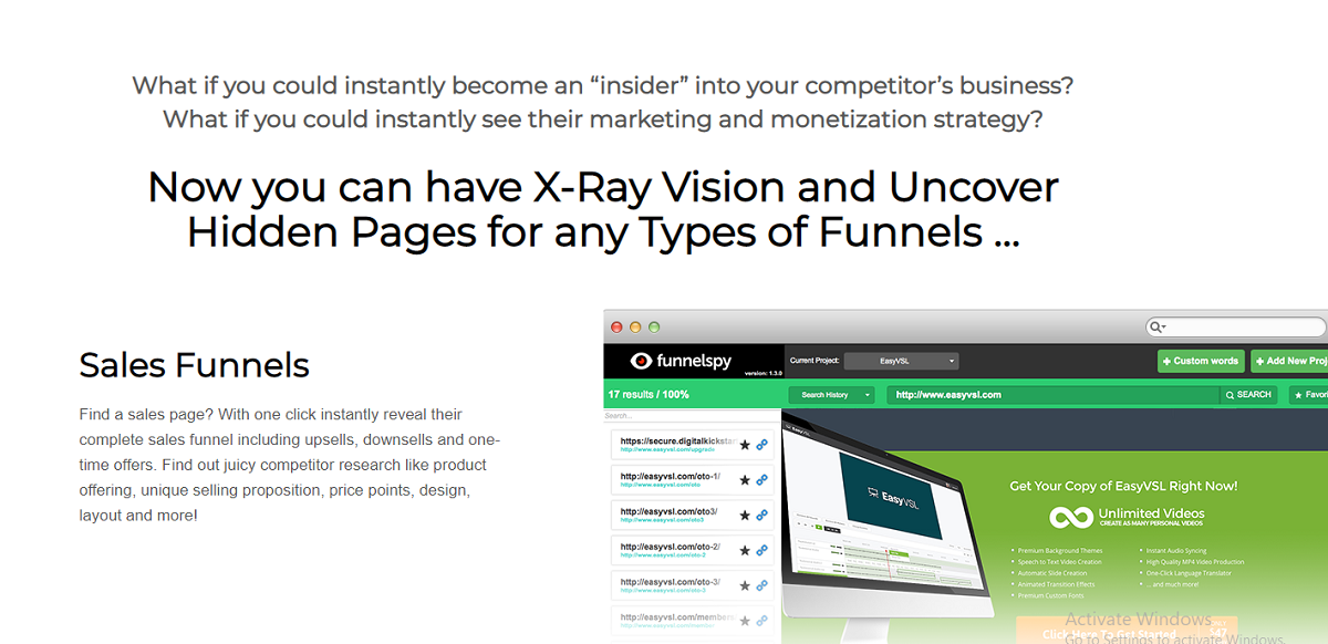 What Are The Features Of FunnelSpy?