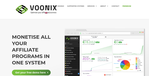 $10 Off and Free Trial at Voonix