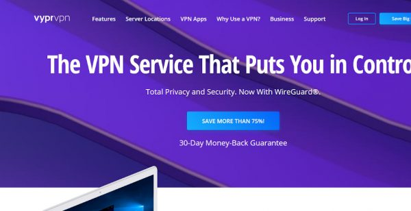 80% Off at VyprVpn