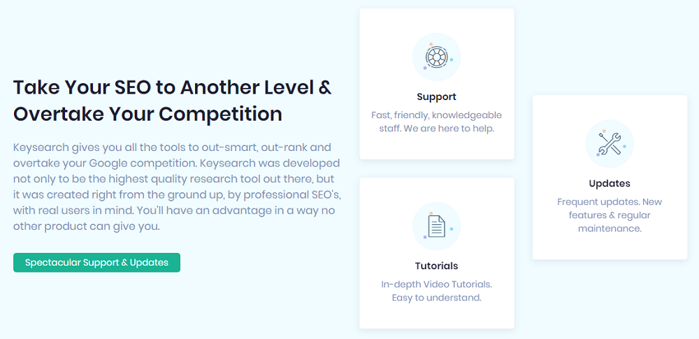 What Are The Features of Keysearch?