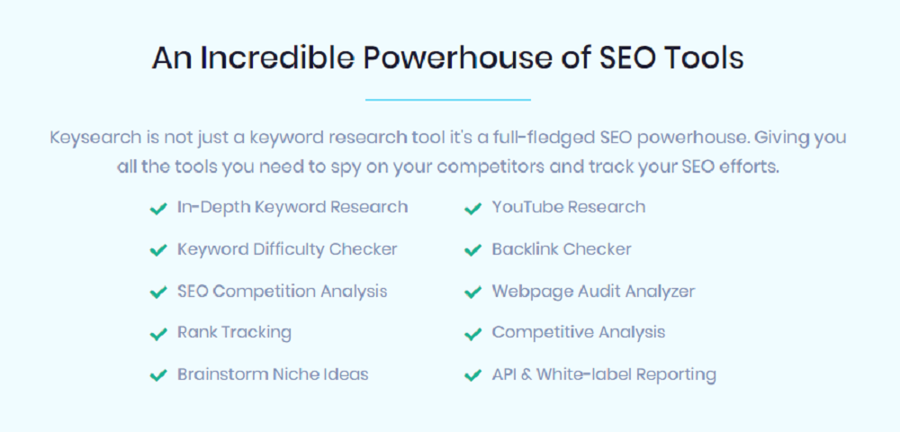 What Are The Benefits of Keysearch?