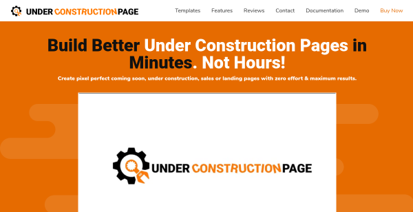 10% Off Under Construction Page