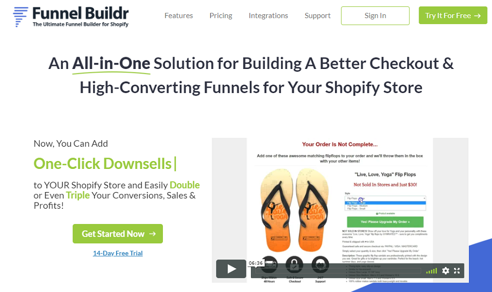 Funnel Buildr Homepages