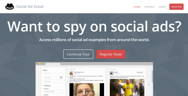 10% Off Social Ad Scout