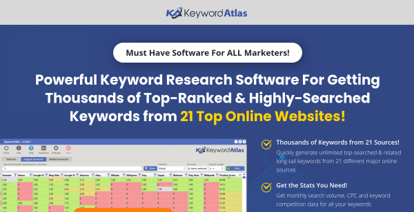45% Off Keyword Atlas