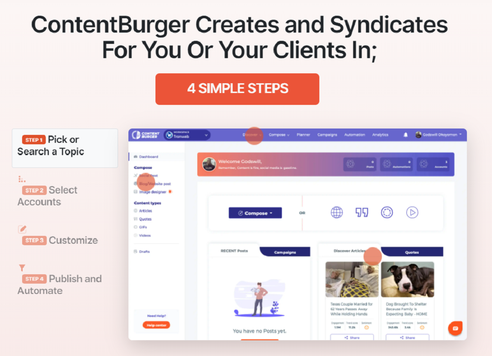 What Are The Benefits of Content Burger?