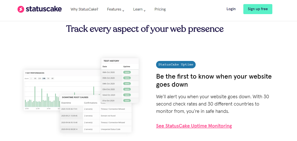 What Are the Benefits of Statuscake?