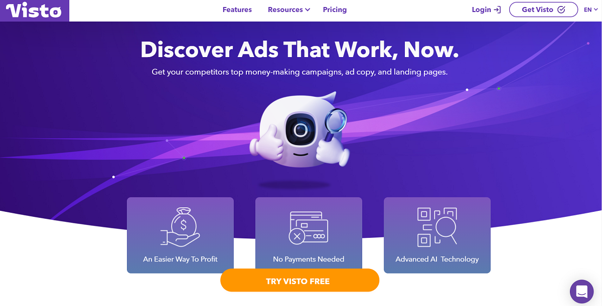 Visto- Your No.1 Ad Intelligence Software