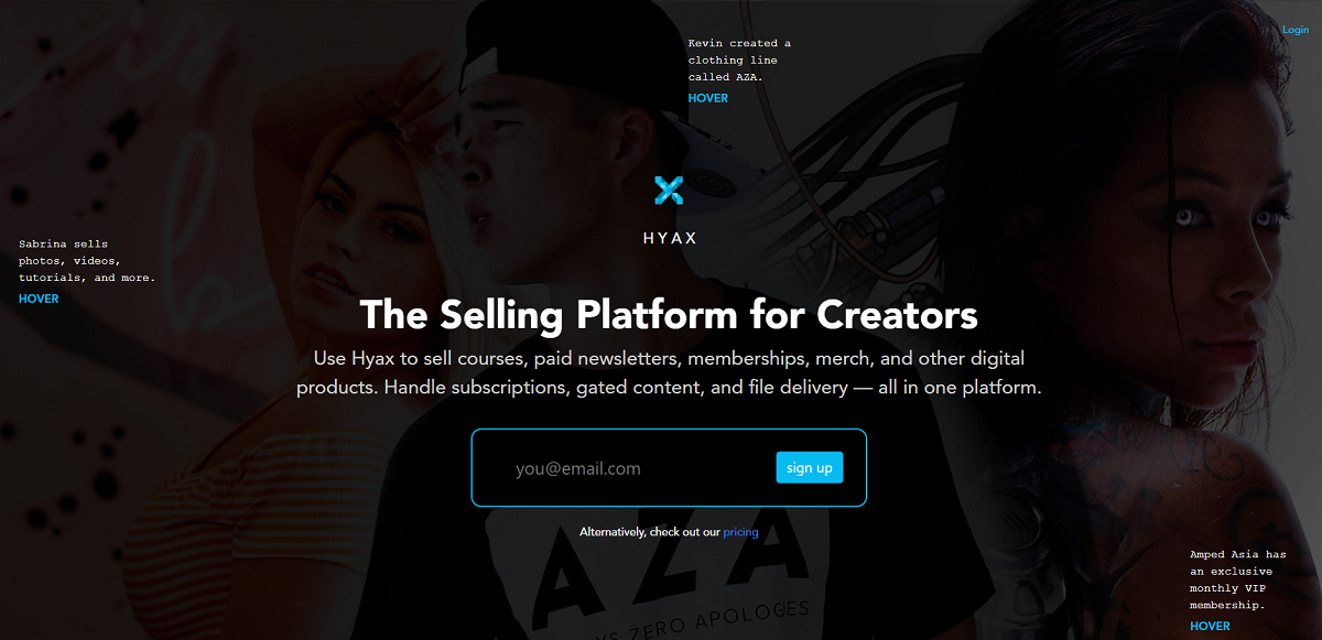 Hyax- Your One-Stop Digital Market-Place