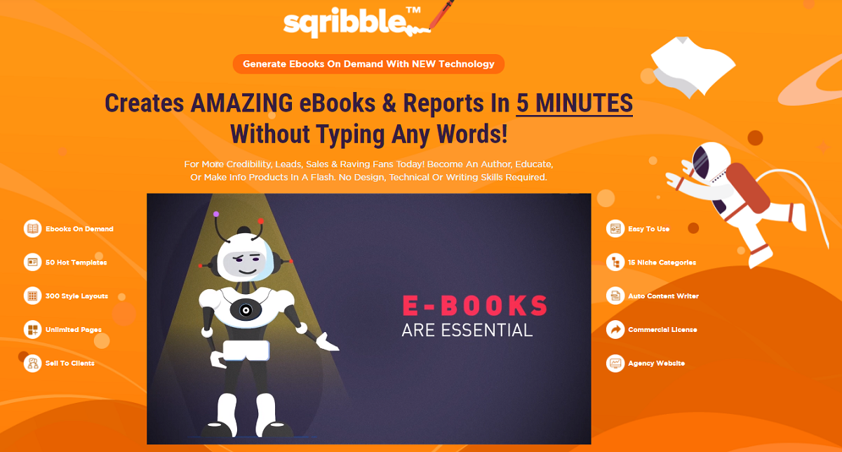 Sqribble- The World-best Ebook Writing Software