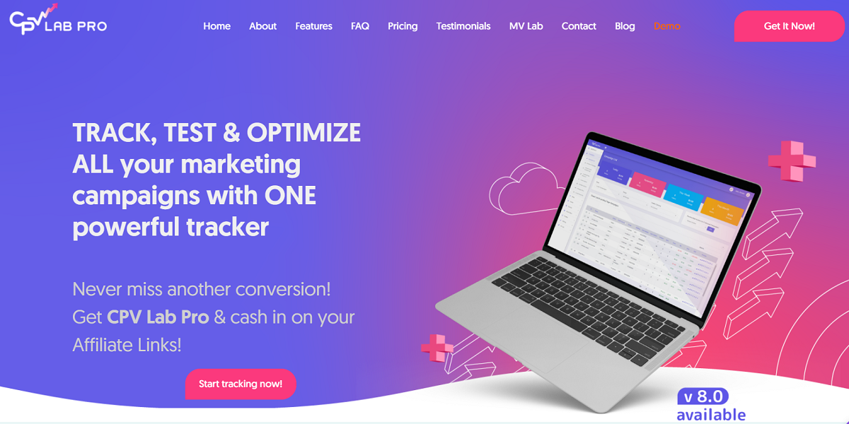 CPV Lab Pro - The All-in-One Powerful Tracker for Marketing Campaigns That Work